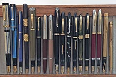 April Monthly Pen Show Tray