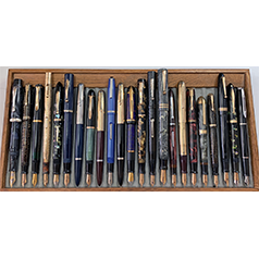 April 2021 Monthly Pen Show Tray