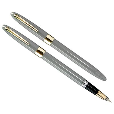 Sheaffer Snorkel Valiant Pastel Gray