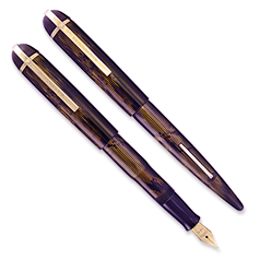 Eversharp Skyline Brown Modern Stripe