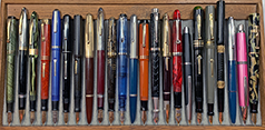 September 2021 Monthly Pen Show Tray