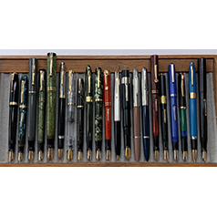 June 2021 Monthly Pen Show Tray