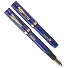 Conklin Endura Vest Pocket in Lapis Blue, Fine Nib