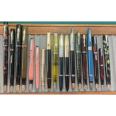 September 2020 Monthly Pen Show Tray