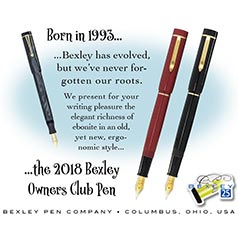 Bexley 2018 Owners Club
