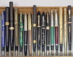 December 2017 Monthly Pen Show Tray