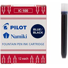 Pilot Namiki Blue-Black Ink Cartridges