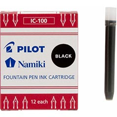 Pilot Namiki Black Ink Cartridges
