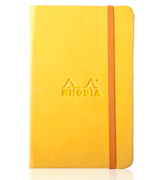 Yellow Rhodiarama Notebook