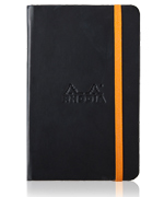 Black Rhodiarama Notebook