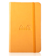 Orange Rhodiarama Notebook