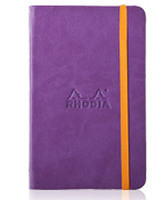 Purple Rhodiarama Notebook