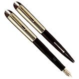 Brown Eversharp Skyline, Medium Nib