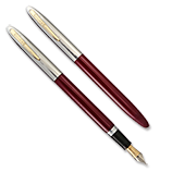 Sheaffer Snorkel Sovereign Burgundy, Fine Nib