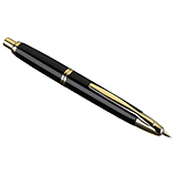 Vanishing Point Black and Gold