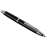 Vanishing Point Black and Rhodium