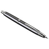 Vanishing Point Gunmetal and Rhodium Fountain Pen