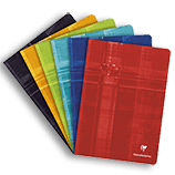 Clairefontaine Classic Notebooks Side Staplebound 8 ¼ x 11 ¾ Lined Assorted Covers 40 sheets