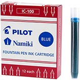 Pilot Namiki Blue Ink Cartridges