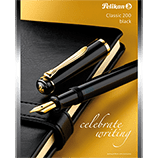 Pelikan M200 Classic Black Fountain Pen