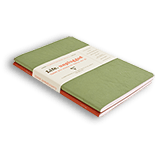 Clairefontaine Basic Notebooks Side Staplebound Duo Red/Green