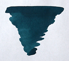 Teal Fountain Pen Ink