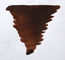 Chocolate Brown Fountain Pen Ink