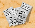 Silica gel packets