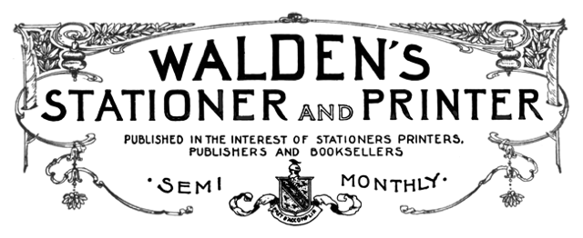 Walden Stationer and Printer