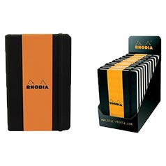 Rhodia Boutique Webnotebooks Bound 5½ x 8¼ Lined Black