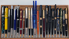 August 2021 Monthly Pen Show Tray