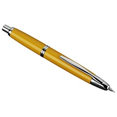 Vanishing Point Yellow and Rhodium