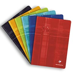 Clairefontaine Classic Notebooks Side Staplebound 3½ x 5½ Lined