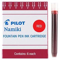 Pilot Namiki Red Ink Cartridges