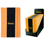 Rhodia Boutique Webnotebooks Bound 5½ x 8¼ Lined Orange