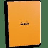 Rhodia Classic Notebooks Side Staplebound 3 x 4¾ Graph Orange