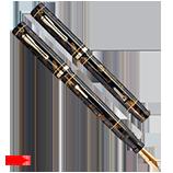 Oversized Conklin Endura, Fine Semi-flex Nib