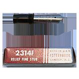 Esterbrook 2314F Relief Fine Stub (Fine Stub) Nib
