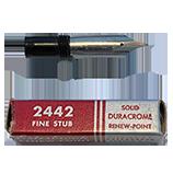 Esterbrook 2442 Fine Stub Falcon (Fine Stub) Nib