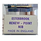 Esterbrook 2668 Firm Medium (General Writing) Nib
