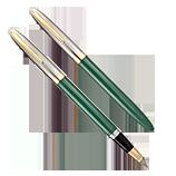 Sheaffer Pastel Green Sentinel Snorkel, XF Nib