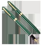 Sheaffer Pastel Green Saratoga Snorkel, XF Nib