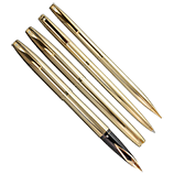 Sheaffer Imperial 777 Gold Filled Set, Fine Nib