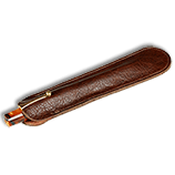 Aston One Pen Leather Slip
