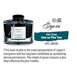 Syo-ro Dew on Pine Tree