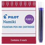 Pilot Namiki Purple Ink Cartridges