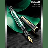 Pelikan M200 Green Marble Fountain Pen