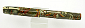 Waterman 92V Green and Brown Fountain Pen