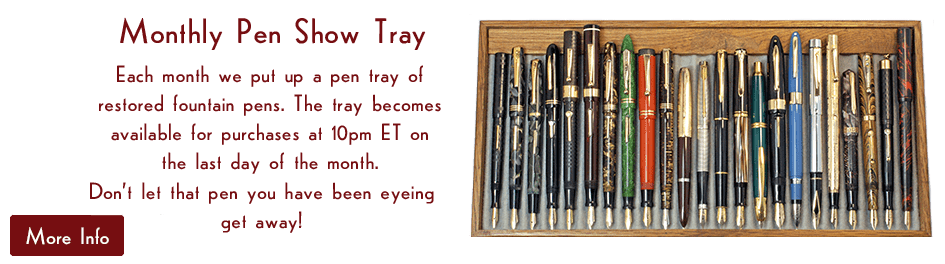 Monthly Pen Show Tray